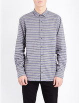 Tommy Hilfiger New York-fit striped cotton shirt
