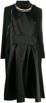 Sacai Asymmetric Zipped Coat