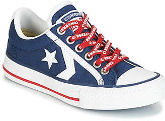 Converse STAR PLAYER EV - OX girls's Shoes (Trainers) in Blue