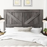 Three Posts Candler Upholstered Headboard Size: King