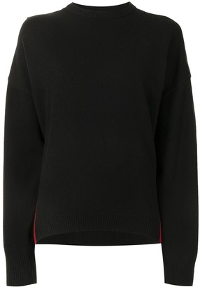 Cynthia Rowley Two Tone Cashmere-Blend Jumper