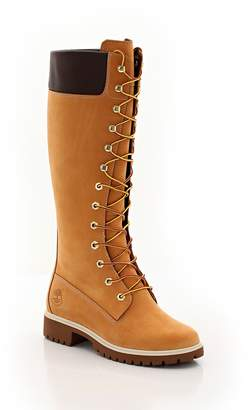 Timberland Knee High Lace-Up Boots