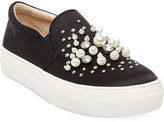 Steve Madden Women's Glamour Pearl-Embellished Sneakers