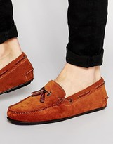 Ted Baker Muddi Suede Tassel Loafers