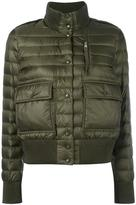 Moncler padded bomber-style jacket - women - Feather Down/Polyamide/Polyester - XS