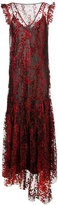 Opening Ceremony tulle layer maxi dress - women - Nylon/Polyester - 4