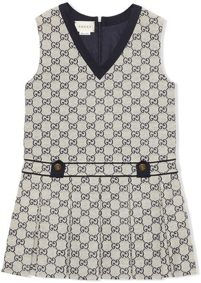 Gucci Kids Children's GG canvas dress