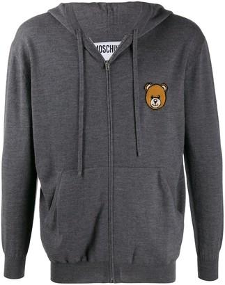 Moschino Teddy Bear zipped cardigan