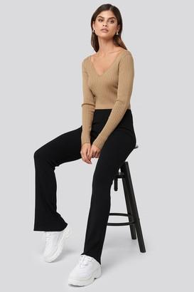 Adorable Caro X NA-KD Ribbed Pants