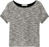 Kain Label Mateo jersey-paneled bouclé top
