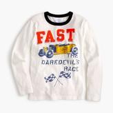 "J.Crew Boys' long-sleeve ""fast"" T-shirt"