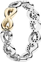 Pandora Ring - 14k Gold, Sterling Silver & Cubic Zirconia Infinite Love
