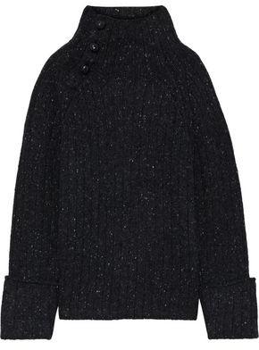 Rag & Bone Melange Ribbed Wool-blend Sweater