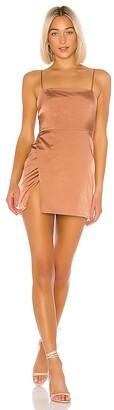 superdown Gianna Slit Mini Dress