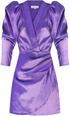 Madeleine Simon Studio Borealis Dress - Purple Skies