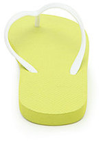 LA Hearts Eva Colorblock Citron Sandals