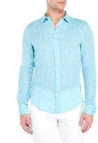 Ganesh Linen Button-Up Shirt