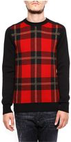 Balmain Tartan And Lurex Pullover