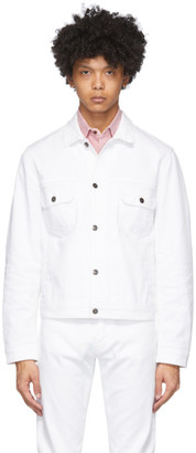 eidos White Denim Jacket