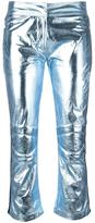 Rossignol metallic three-quarter trousers - women - Polyester - 36