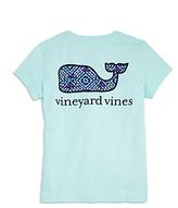 Vineyard Vines Girls' Whale Tail Pocket Tee - Big Kid