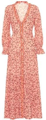 Poupette St Barth Rita printed cotton maxi dress