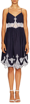 Jonathan Simkhai Cotton Embroidered Poplin Dress