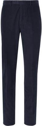 Boglioli Navy Slim-Fit Cotton-Corduroy Suit Trousers