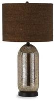 Gilt,  silver mercury glass/cork shade, In Stock