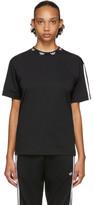 adidas Black Trefoil Collar T-Shirt