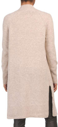 Cashmere Open Cardigan Duster