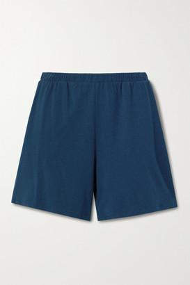 Skin Monika Stretch-jersey Shorts - Navy