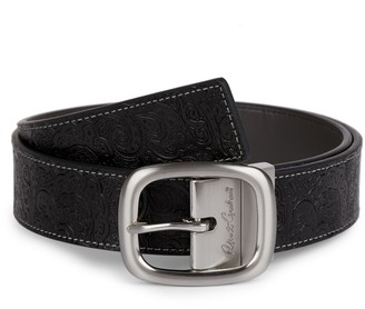 Robert Graham Hartley Reversible Leather Belt
