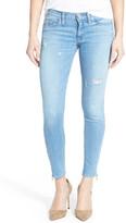 Hudson &Krista& Ankle Zip Super Skinny Jeans (Tradewind)
