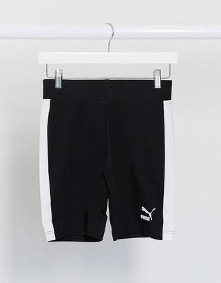 Puma classic legging shorts in black