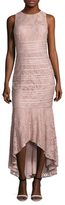 JS Collections Lace Sheath Gown