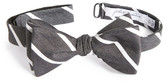 John W. Nordstrom Young Stripe Silk Bow Tie