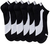 Puma 1/2 Terry Low Cut Socks - Pack of 6