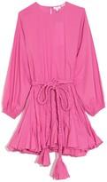 Rhode Resort Ella Dress in Prism Pink