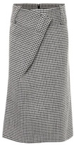 Balenciaga Wool and linen skirt