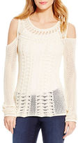 Jessica Simpson Cierra Knit Cold Shoulder Top