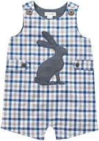 Mud Pie Gingham Easter Bunny Shortall Boy's Jumpsuit & Rompers One Piece