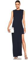 Nomia Vintage Twill Cutout Hem Dress