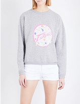 Fiorucci Memphis boyfriend cotton-blend sweatshirt