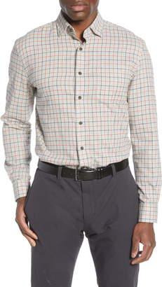 johnnie-O Wake Classic Fit Plaid Button-Up Shirt