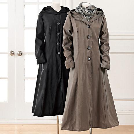 Gump's Long Lightweight Raincoat