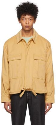 Jacquemus Yellow La Veste Esterel Jacket