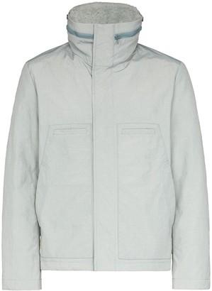 Yves Salomon Zip-Front Puffer Jacket
