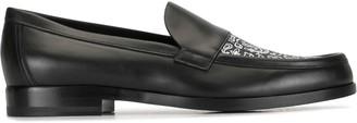 Pierre Hardy Hardy paisley print loafers