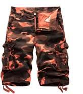 AOQ AOYOG Men's Camo Cargo Shorts Cotton